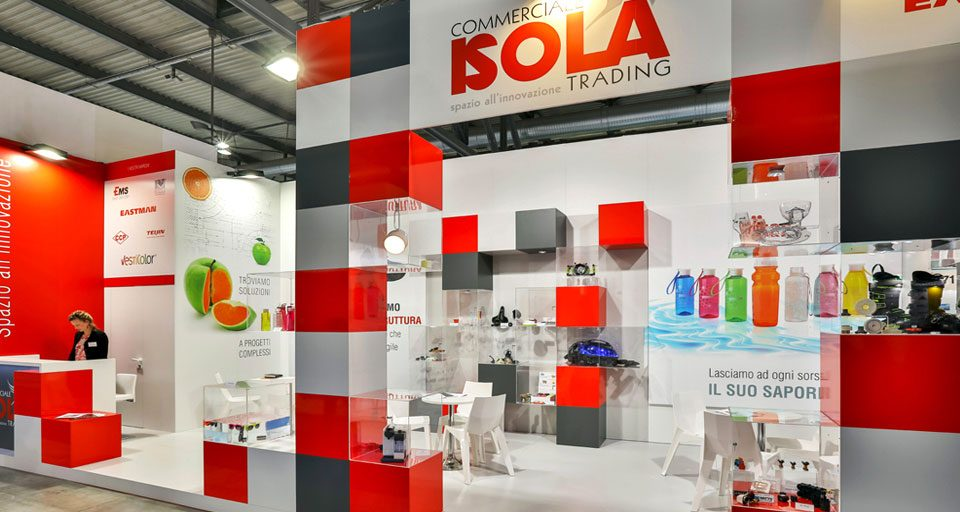 Stand Commerciale Isola Plast 2018